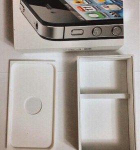 Коробка на iPhone 4s
