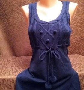Платье сарафан 42 р-р трикотаж