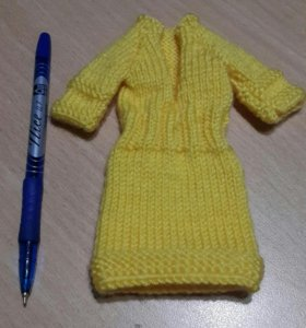 Платье на маленькую куколку
