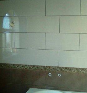 плиточный, мозаичный, отделочный работы.