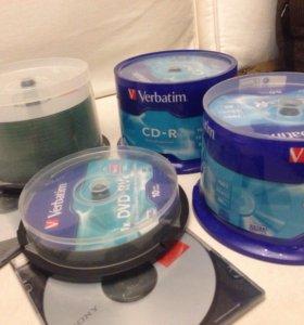 Диски CD-R/RW, DWD-RW