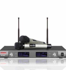 Караоке радиосистема для вокала Temeisheng W-992