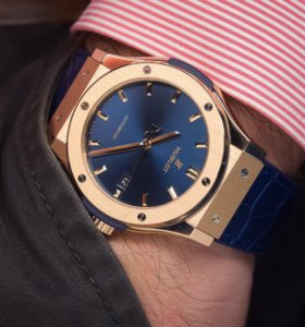 Часы Hublot Gold&Blue