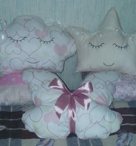 Декоротивные подушки игрушки