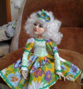 Авторская будуарная кукла ручной работы