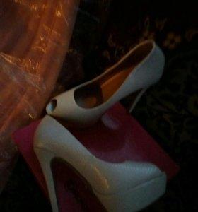 Платье выпускное + туфли