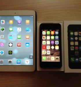 iPhone 5s 16g и iPad mini 16g