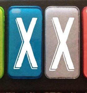 Силиконовые чехлы iPhone 5,5s,SE