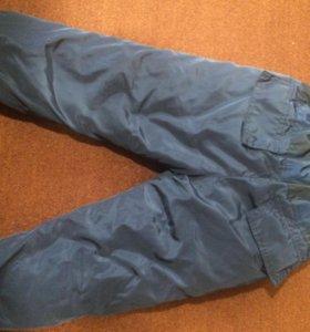 Дутые болоневые штаны