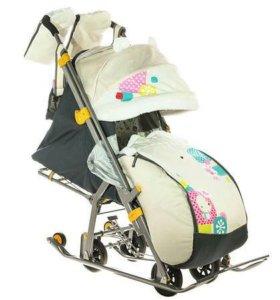 Санки-коляска Ника 7-2.торг уместен
