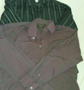 Фирменные мужские рубашки.