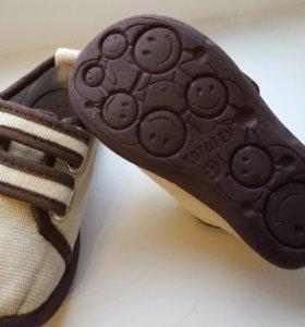 Текстильные ботиночки Котофей