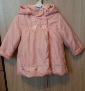 курточка для девочки 86 р-р