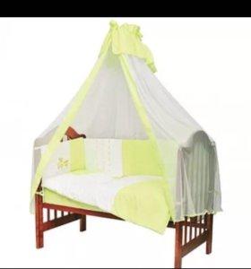 Набор в детскую кроватку! Новый👍