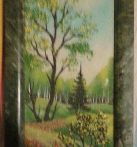 Картина из Уральского камня