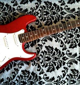 Электрогитара Stratocaster в отличном состоянии