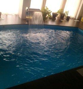 Обслуживание и ремонт бассейнов