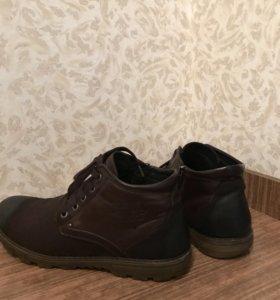 Мужские ботинки . Зима