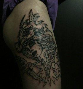 Tattoo, татуировки
