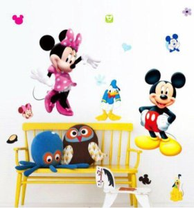 Декоративные наклейки для детской комнаты