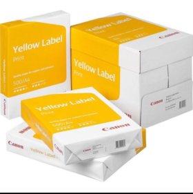 Бумага А4 Yellow Label