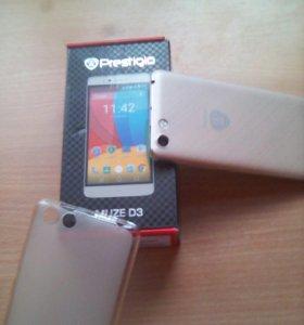 Телефон Prestigio muze d3.