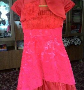 Платье на 6-7 лет 30 размер