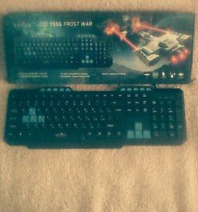 Игровая клавиатура и мышка Все вмести!!!