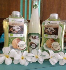 Тайское Кокосовое масло Tropicana 1 литр