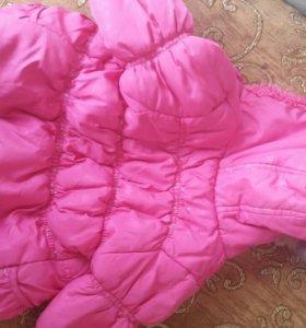 куртка демесезон на девочку