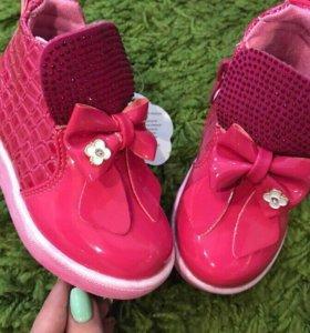 Новые ботиночки на весну