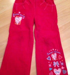 Вельветовые штаны Gloria jeans