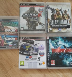 Диски Sony Playstation 3