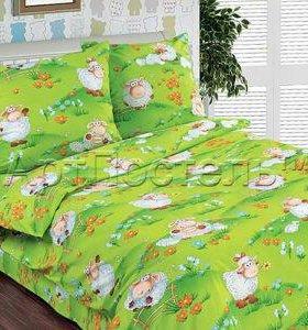 """Детское постельное белье """"Веселая лужайка"""""""