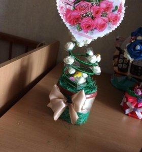 Топиарий-дерево счастья