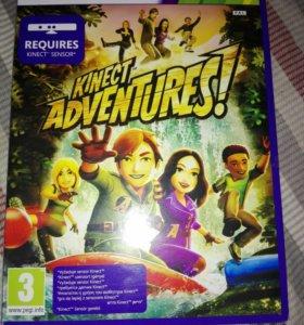 Игра на xbox 360 kinect adventure