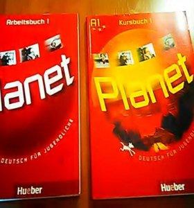 Учебник по немецкому языку и рабочая тетрадь