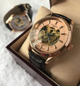 Механические часы Tissot +портмоне
