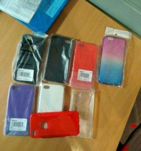 Чехлы и стекла на все айфоны