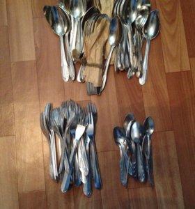 Ложки , вилки , чайные ложки из алюминия