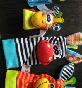 Развивающие нарукавники и носочки
