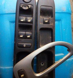Блок управления стеклоподъемниками Peugeot 307