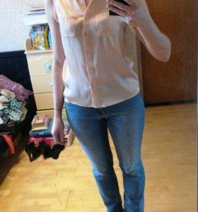 Рубашка без рукавов, размер 46.