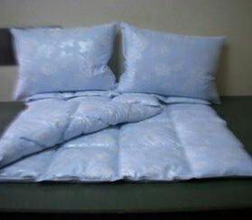 Изготовление одеял и подушек