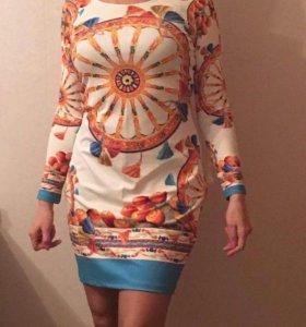 "Брендовое платье, ""Dolce&Gabbana"", размер 44-46"