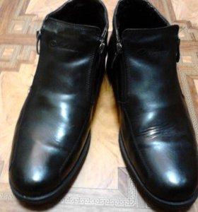 Ботинки мужские, 40 размер.