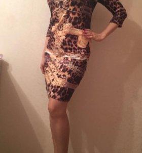 Брендовое платье Philipp Plein, размер 46