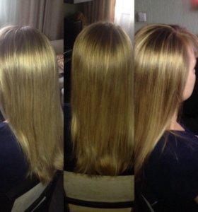 Ламинирование волос,Ботокс,Кератиновое выпрямление