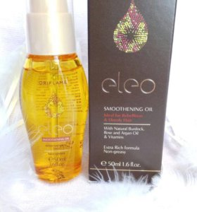 Разглаживающее масло для волос Eleo 50мл