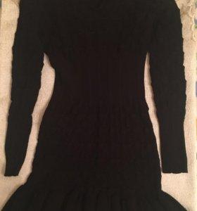 Платье трикотажное, размер 44-46